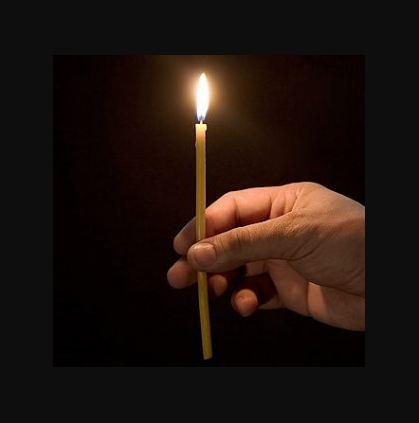 Амулет от порчи и сглаза из свечи