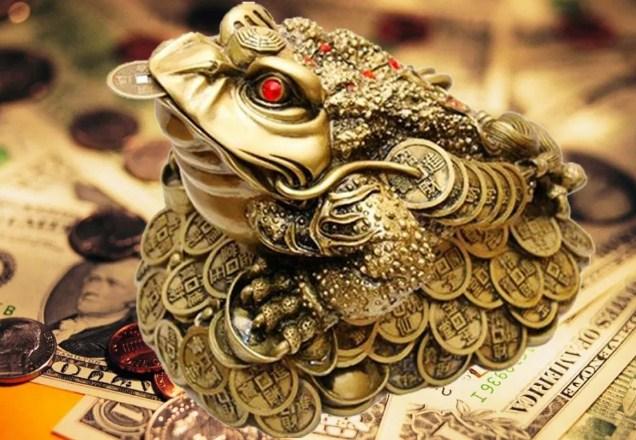 Денежная жаба талисман на богатство