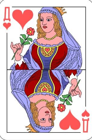 Червовая дама